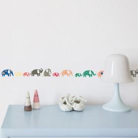 Frise - Éléphants