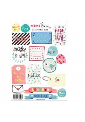"""Happy"" stickers kit"