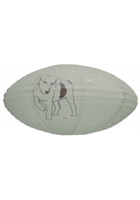 Paper lantern Dog
