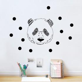 Sticker - Tête de panda
