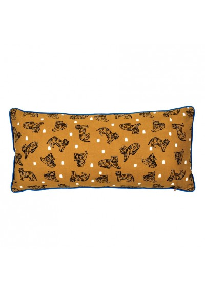 Coussin long - Tigres