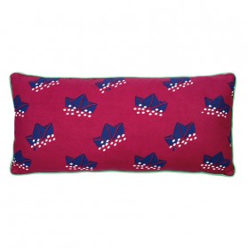 Coussin long - Paper boats