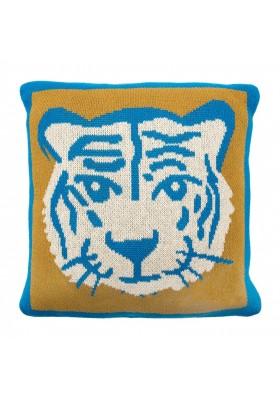 Coussin tricoté Tiger