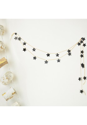 6 - Kit guirlande - Étoiles noires