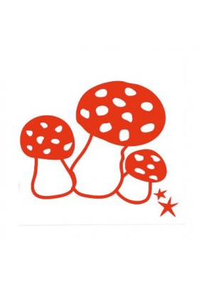 "Iron-on application ""Mushrooms"""