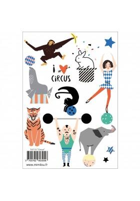 """Circus"" tattoos"