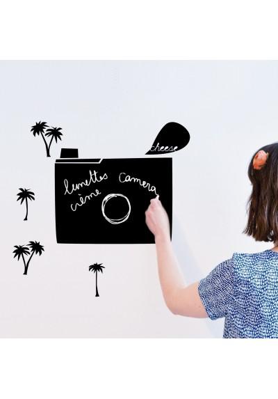 'clic clac' blackboard sticker