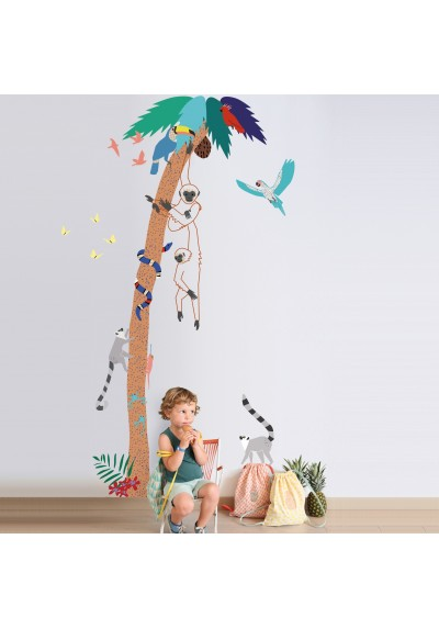 Into the jungle wall decal