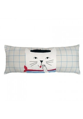 Coussin long - French cat