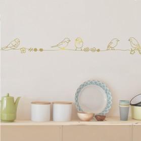 Frise - Perles et Oiseaux Gold