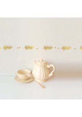 Wall Decal Border - Palme d'or