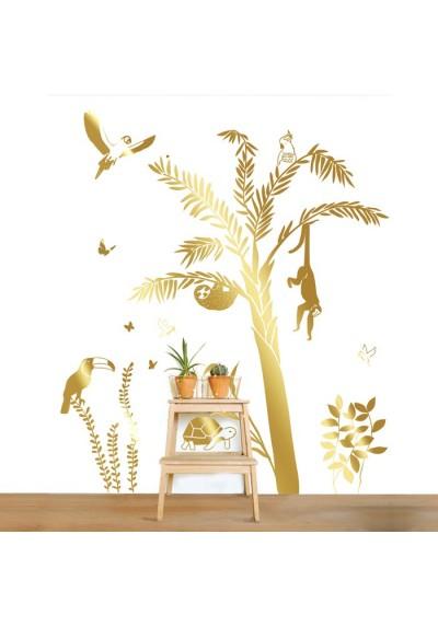 Sticker - Palmier doré