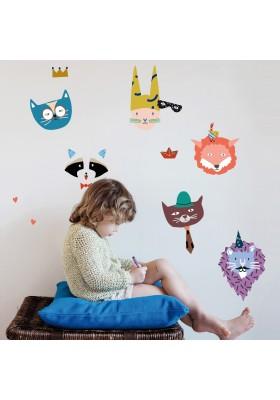 Sticker - Animal Party