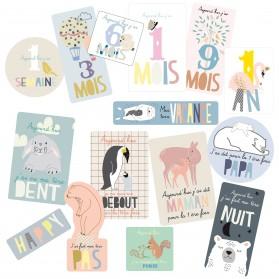 Sticker - Baby Cards