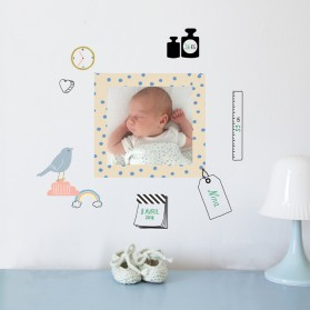 Baby frame - Just a touch