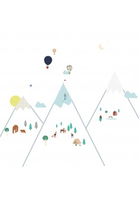 Stickers - Big Mountains