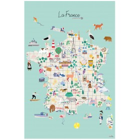 affiche - La France