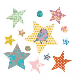 Stars - Iron on application