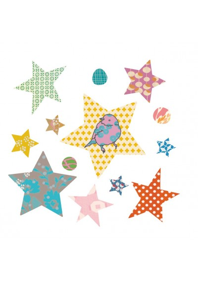 Populaire préféré Stars - Iron on application - Mimi'lou Shop &YA_07