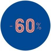 - 60 %