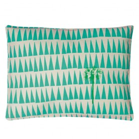 Palm tree - Embroidered cushion