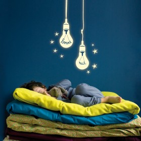 Bonne nuit bulbs - Glow in the dark sticker