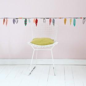 Frise - Plumes multicolores
