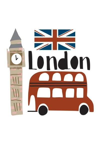 Mini sticker London