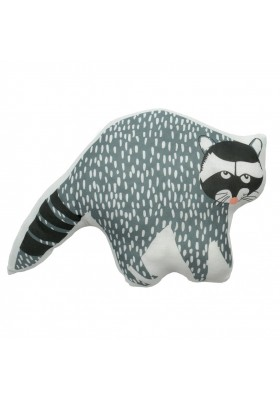 Hector the raccoon cushion