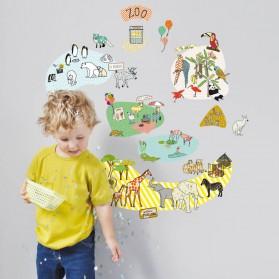 Sticker - Le zoo