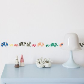 Elephants  - Wallborder