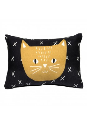 """Charlie the cat"" mini cushion"