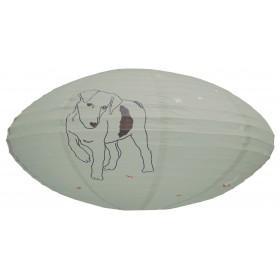 Dog - Paper lantern