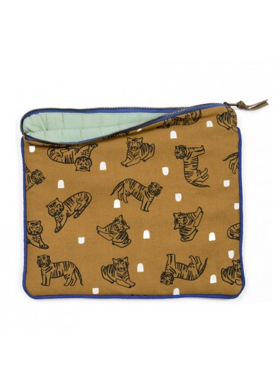 Padded pouch - Tigers