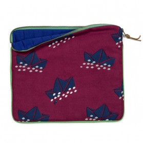 Ipad pouch - Paper boats