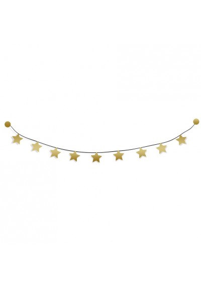 "DIY garland kit ""gold stars"""