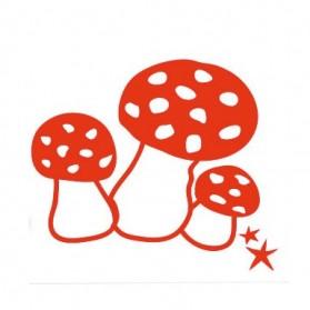 Mushrooms - Iron on application