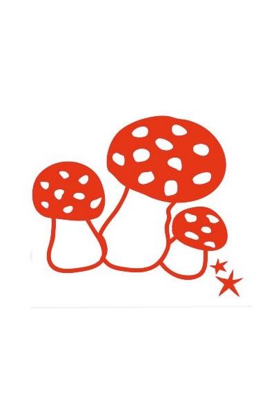 "Iron-on application ""Mushrooms"""