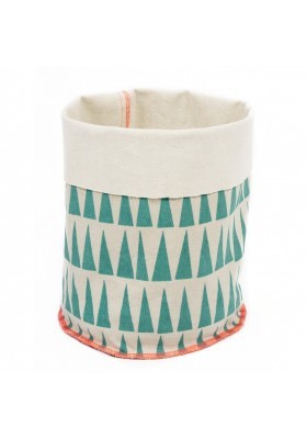 Triangles - fabric basket