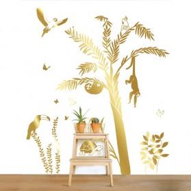 Sticker géant - Palmier doré