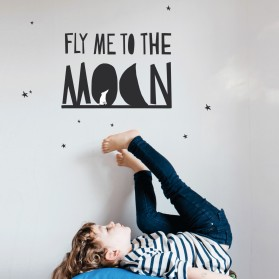 Fly me to the Moon - Sticker