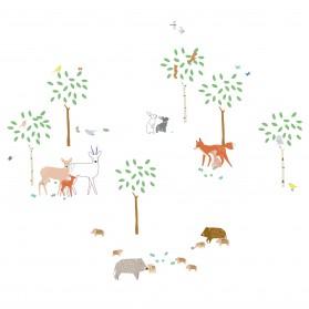 Sticker - Balade en forêt
