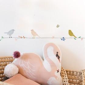 Frise - Fleurs et Oiseaux