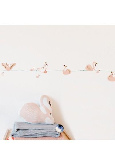 Wallborder Swans