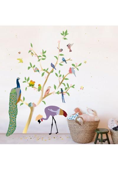 Sticker - With the birds