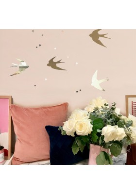 Swallows wallsticker