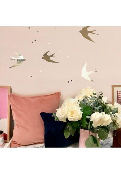 Swallows wallsticker