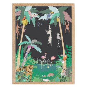 Frame and poster JUNGLE