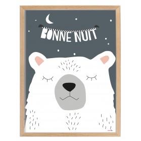Cadre et poster BONNE NUIT