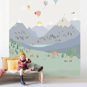 Panorama wallpaper MOUNTAINS